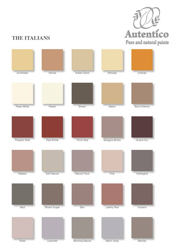 Italians-colour-chart